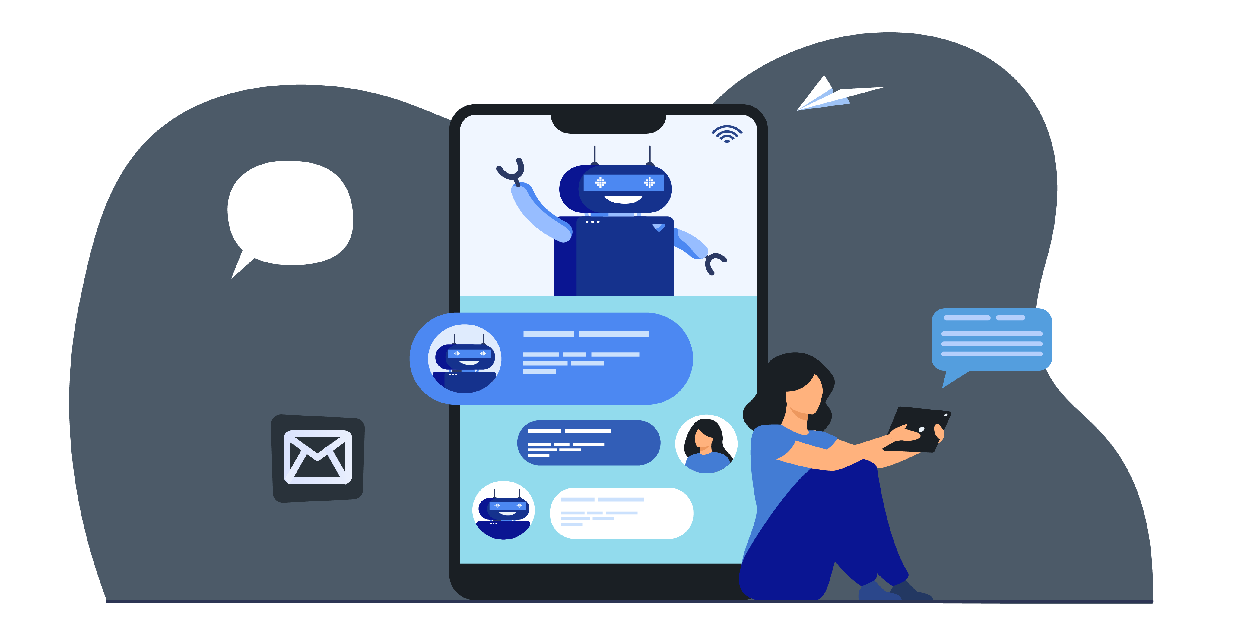 Virtual assistant Chat Bot